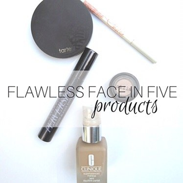 5 Products To A Flawless Face