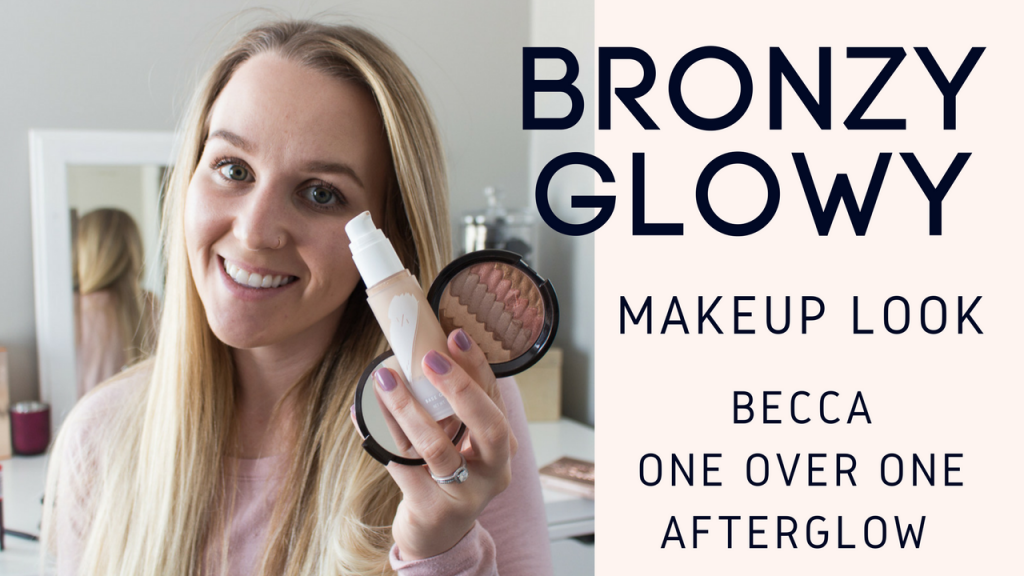 Bronze & Glow Makeup Look