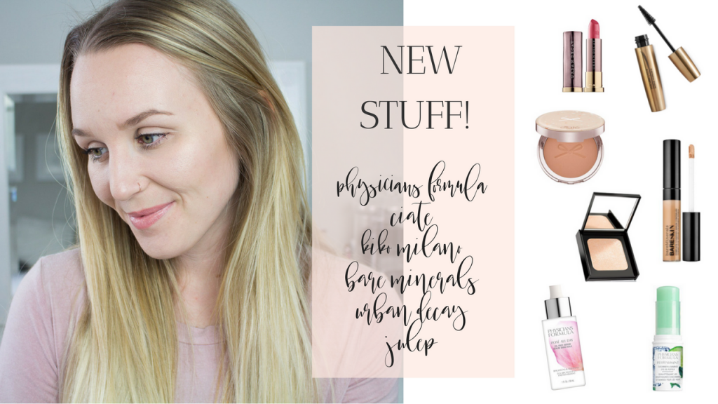 NEW STUFF! Physician's Formula, Kiko, Ciate, Bare Minerals +More