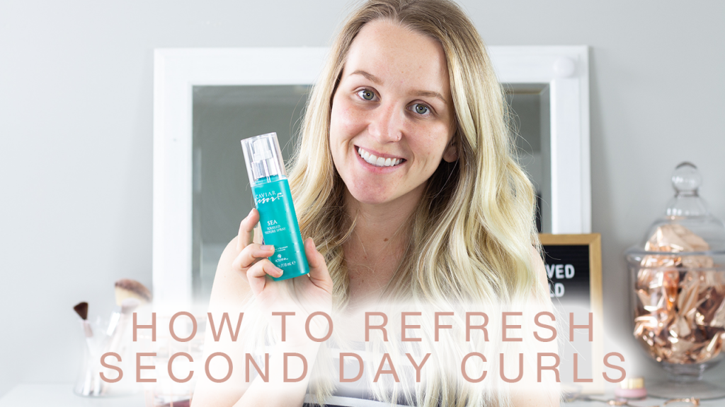 HOW TO REFRESH SECOND DAY CURLS
