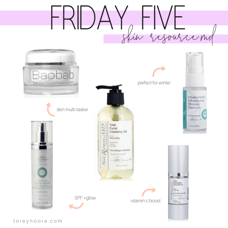 Friday Five | Skin Resource.MD Favorites