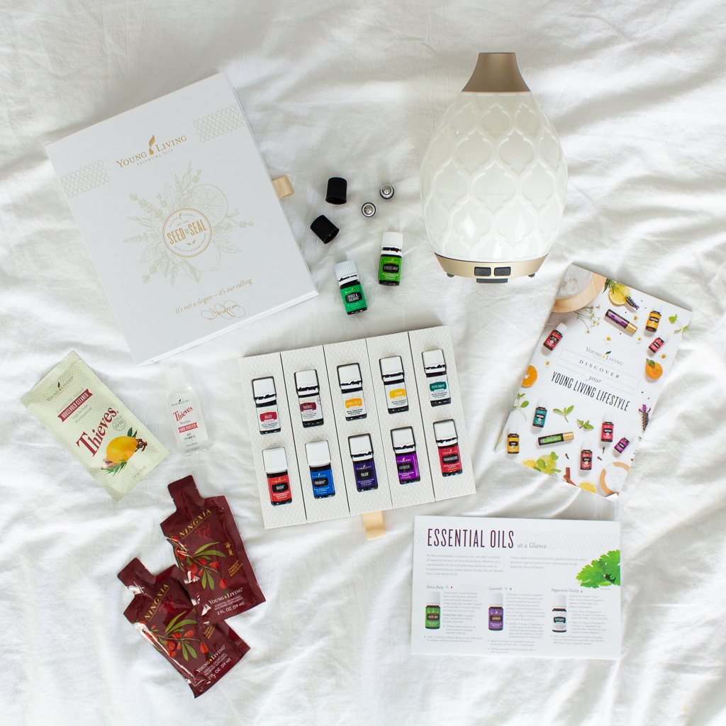 Wellness Wednesday | Young Living Essential Oils Starter Kit